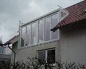 Balkonaustrittsgauben