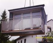 Balkonaustrittsgaube