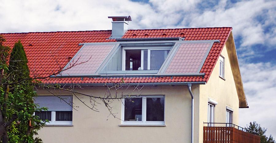 Loggia Dach Referenzen 3 Sps Gauben