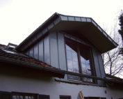 Spitzdach-Satteldachgaube